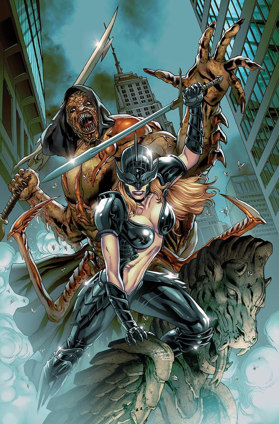 Grimm Spotlight Black Knight vs Lord Of Flies One Shot Cover A Igor Vitorino