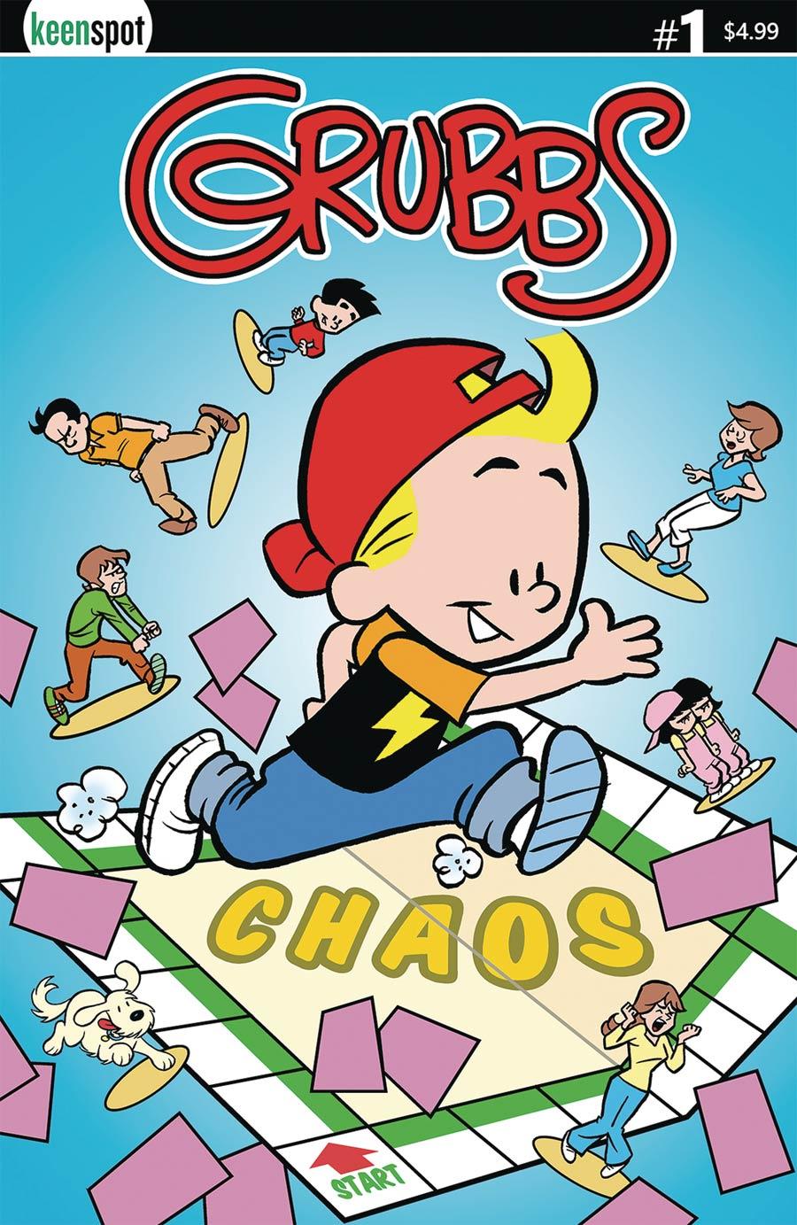 Grubbs #1 Cover A Regular Ted Dawson Cover