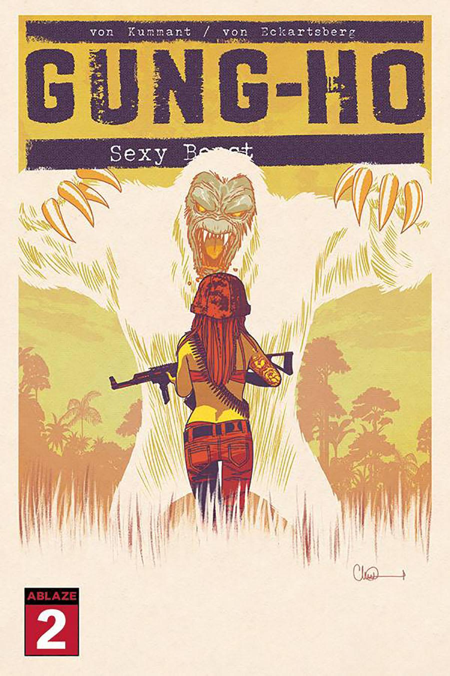 Gung-Ho Sexy Beast #2 Cover A Regular Charlie Adlard Cover