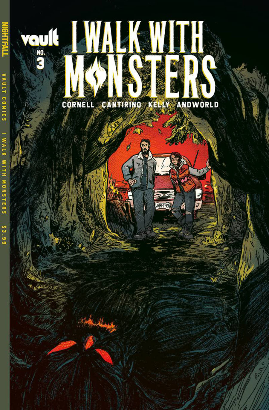 I Walk With Monsters #3 Cover A Regular Sally Cantirino Cover