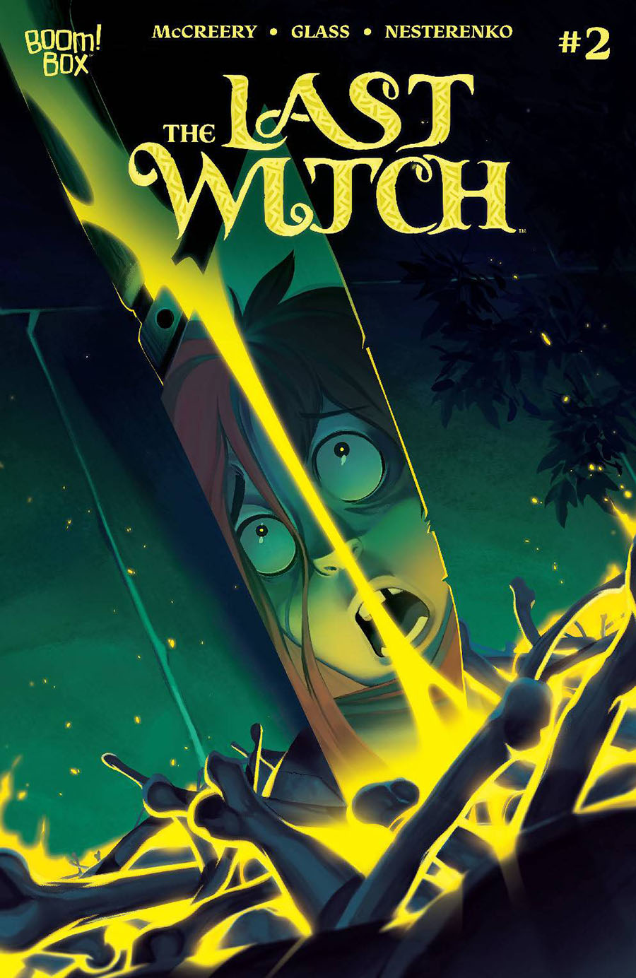 Last Witch #2 Cover A Regular VV Glass Cover