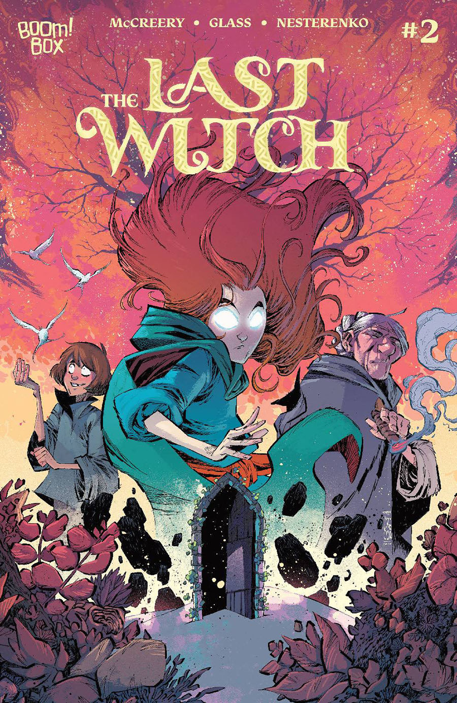 Last Witch #2 Cover B Variant Jorge Corona Cover