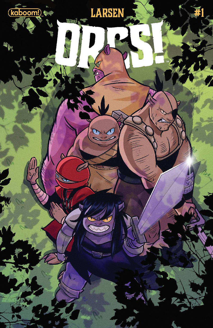 Orcs #1 Cover B Variant Sweeney Boo Cover