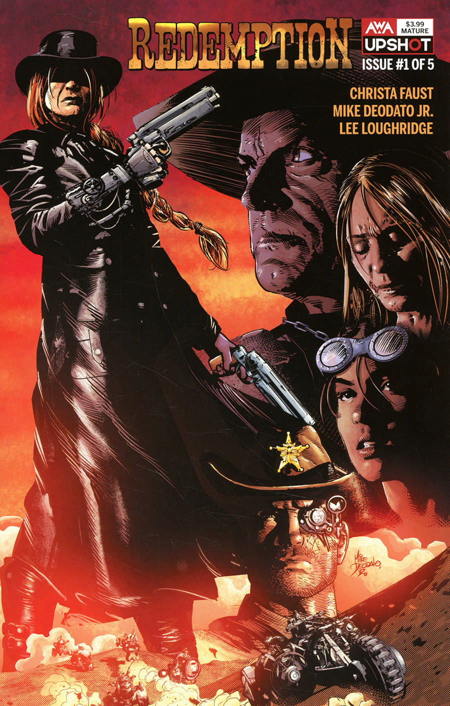 Redemption #1 Cover A Regular Mike Deodato Jr Cover