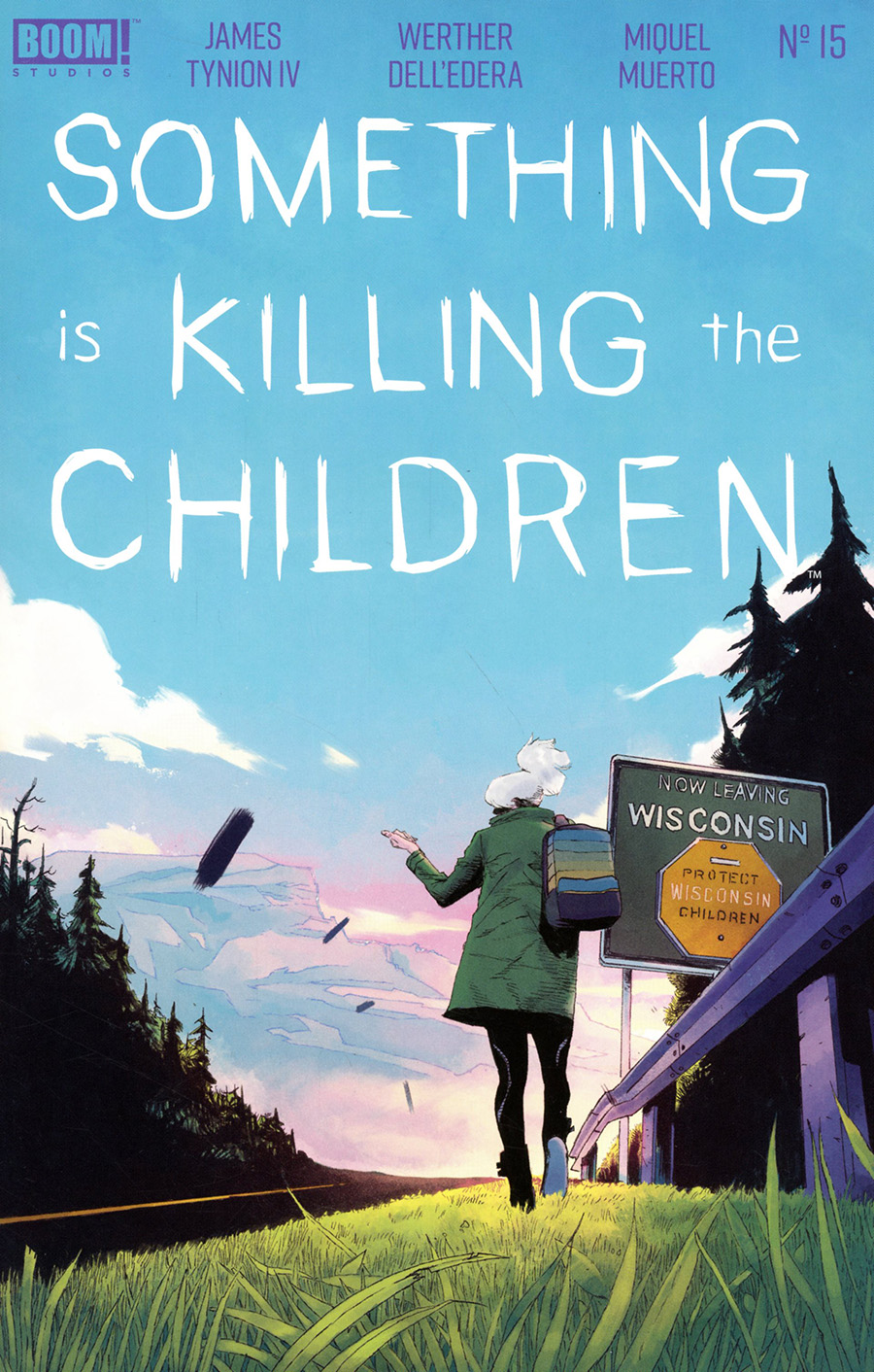 Something Is Killing The Children #15 Cover A Regular Werther Dell Edera Cover