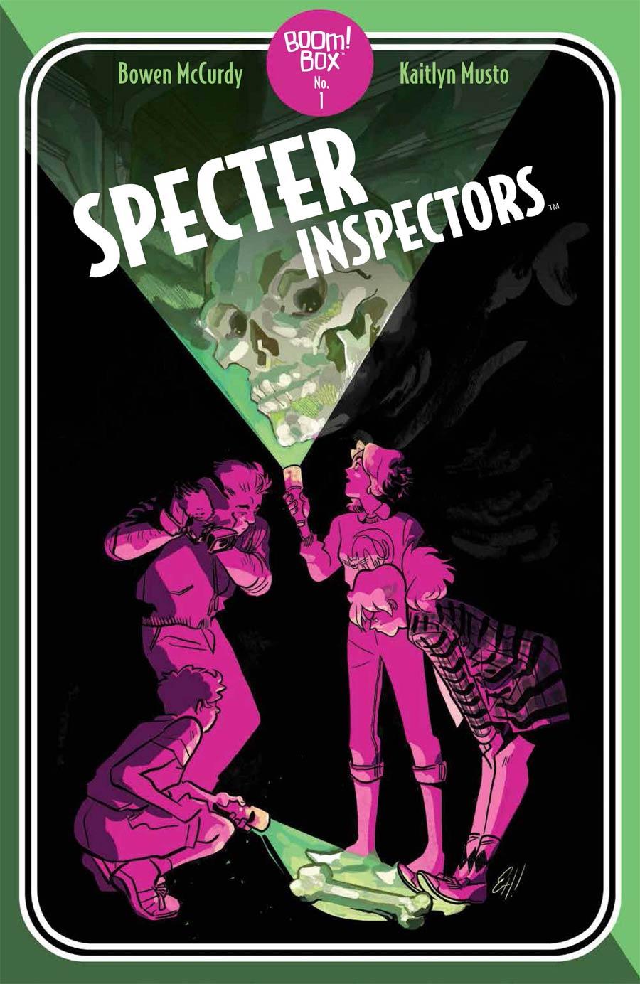 Specter Inspectors #1 Cover B Variant Erica Henderson Pocket Book Cover