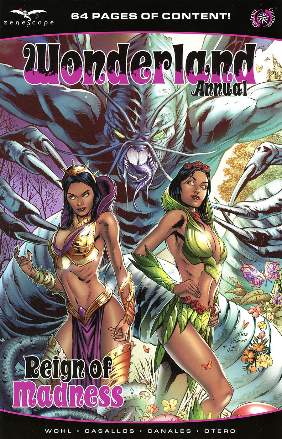Grimm Fairy Tales Presents Wonderland Annual Reign Of Madness One Shot Cover A Igor Vitorino