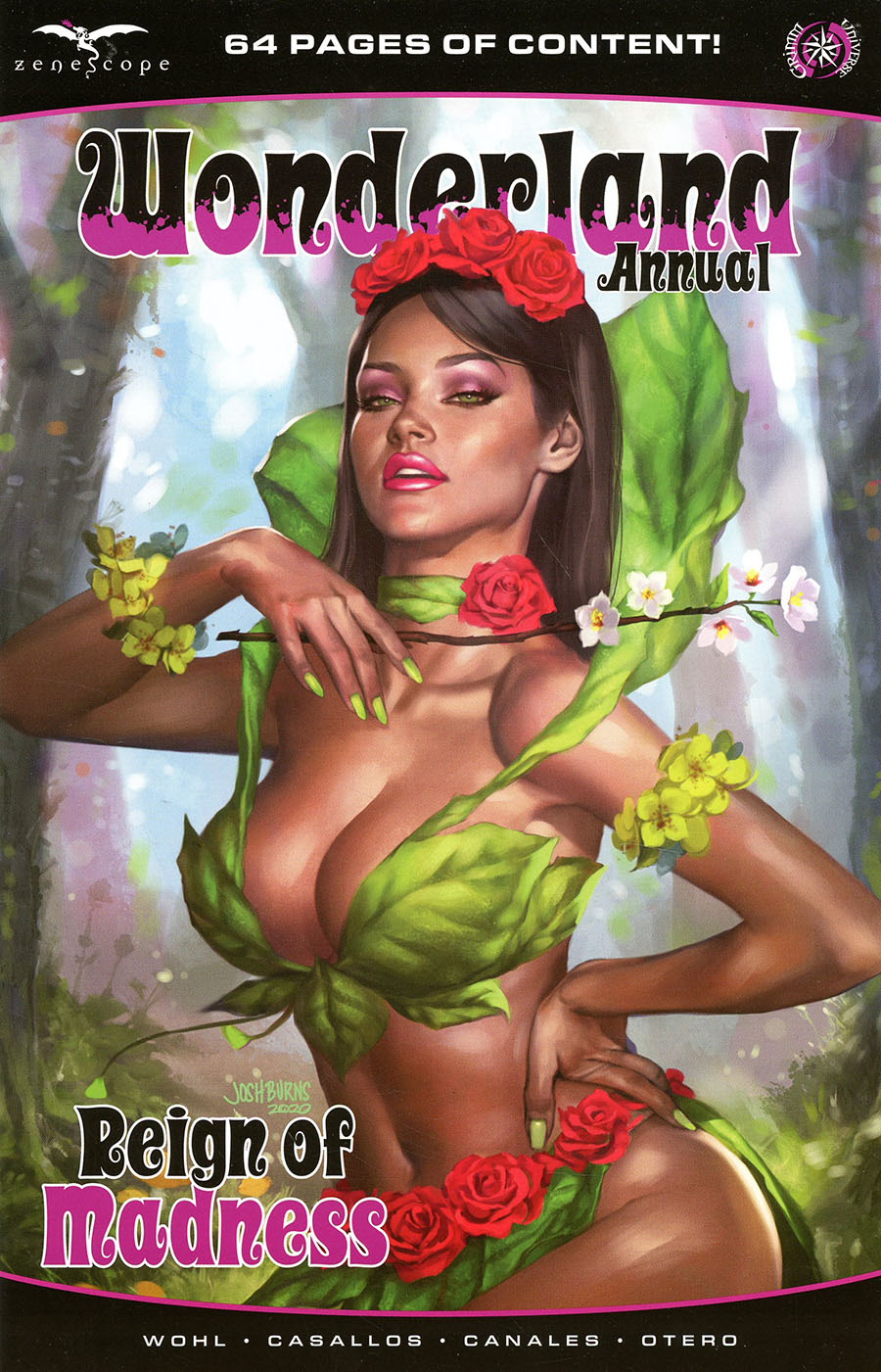 Grimm Fairy Tales Presents Wonderland Annual Reign Of Madness One Shot Cover C Josh Burns