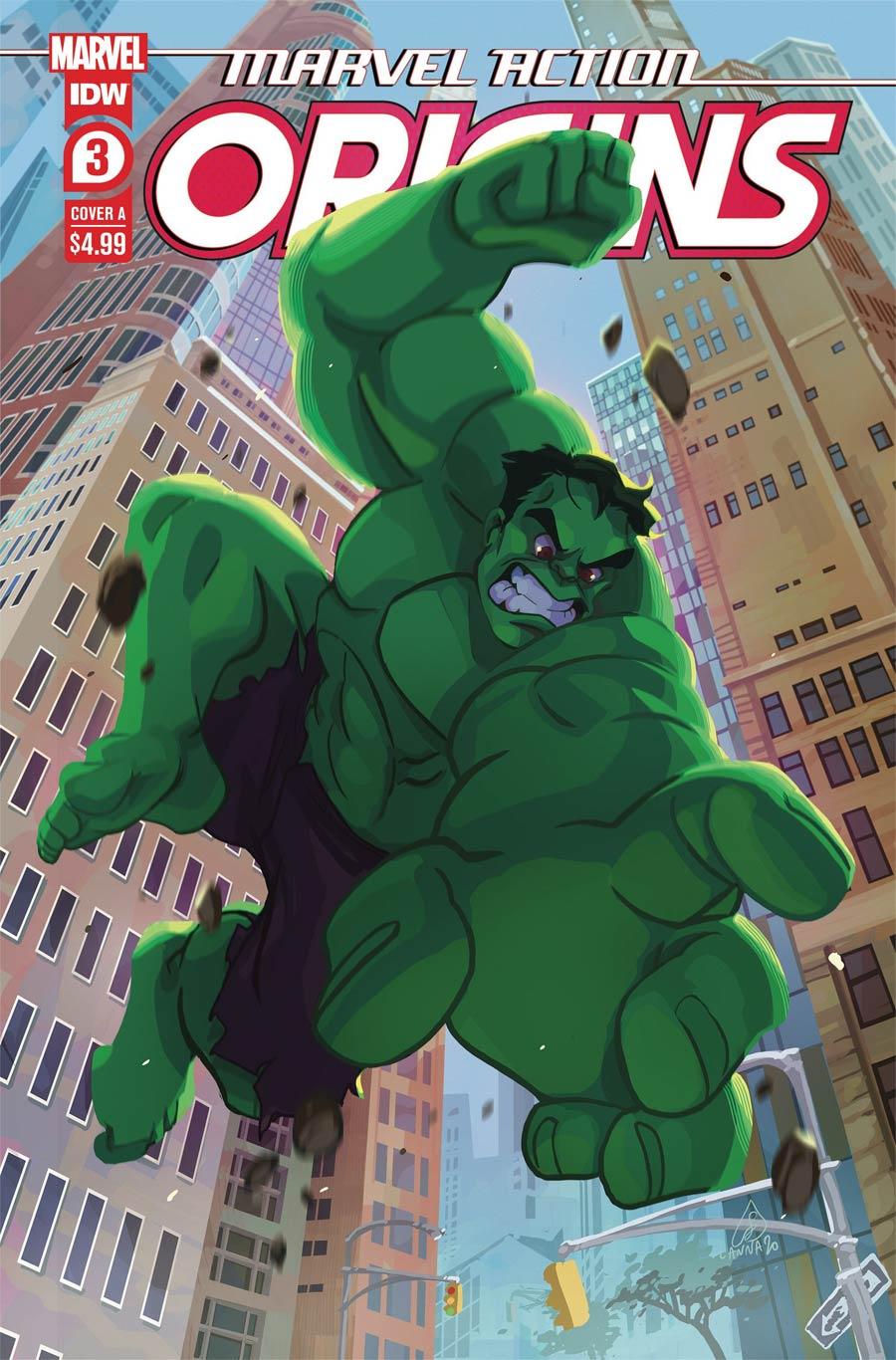 Marvel Action Origins #3 Cover A Regular Lanna Souvanny Cover