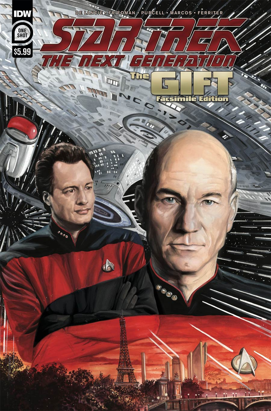Star Trek Next Generation The Gift Facsimile Edition
