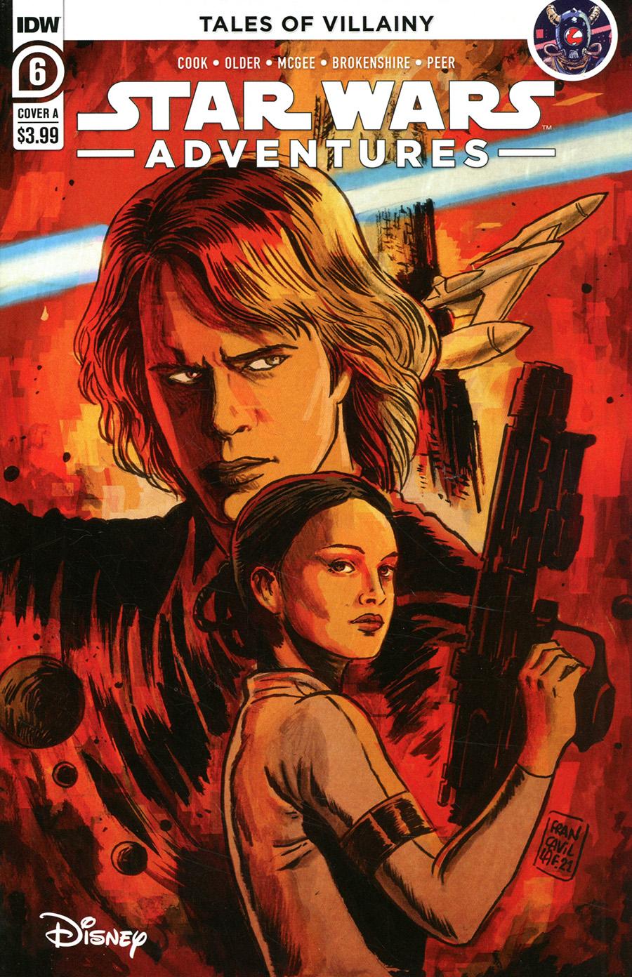 Star Wars Adventures Vol 2 #6 Cover A Regular Francesco Francavilla Cover