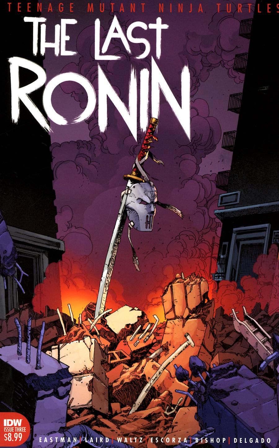 Teenage Mutant Ninja Turtles The Last Ronin #3 Cover A Regular Kevin Eastman Cover