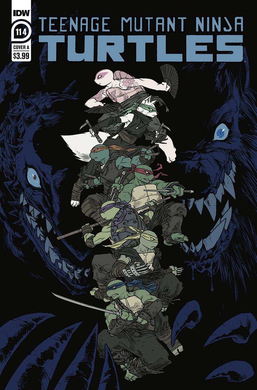 Teenage Mutant Ninja Turtles Vol 5 #114 Cover A Regular Sophie Campbell Cover