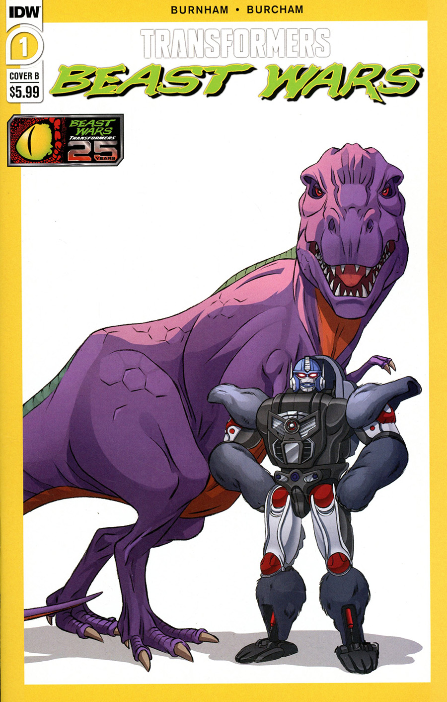Transformers Beast Wars Vol 2 #1 Cover B Variant Dan Schoening Cover
