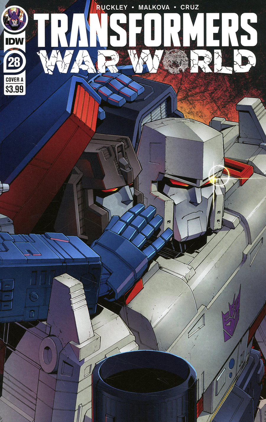 Transformers Vol 4 #28 Cover A Regular Casey W Coller Cover