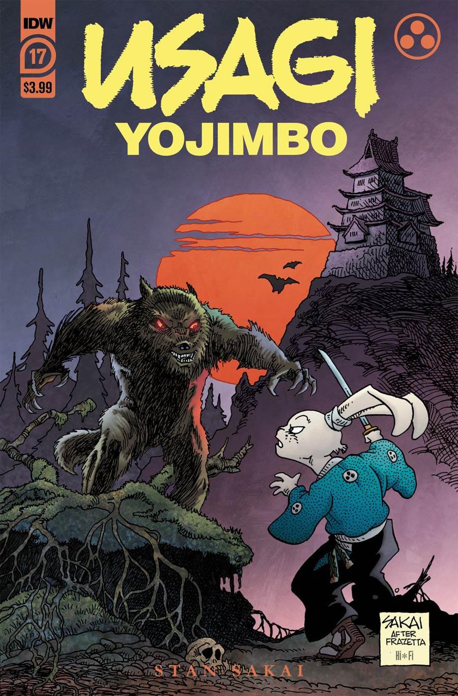 Usagi Yojimbo Vol 4 #17 Cover A Regular Stan Sakai Cover