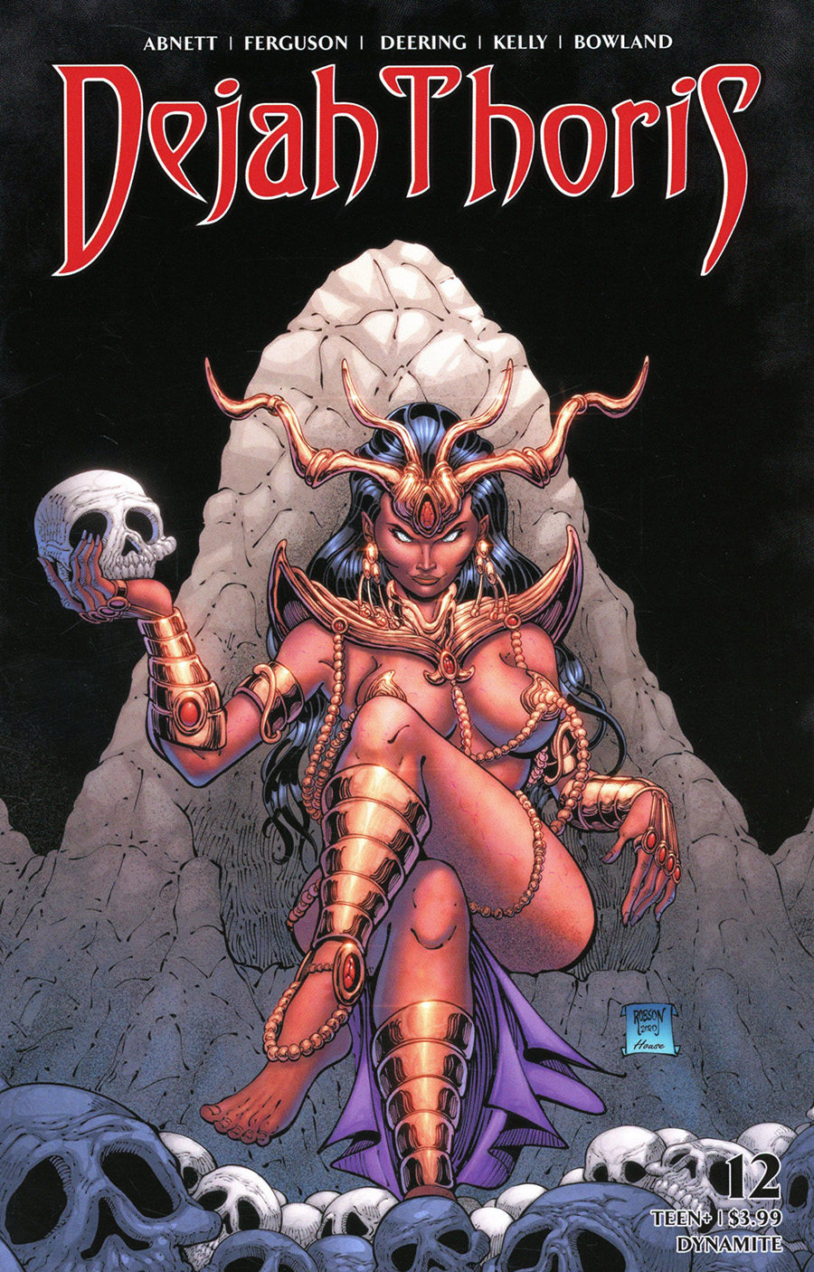 Dejah Thoris Vol 3 #12 Cover D Variant Will Robson Zombie Cover
