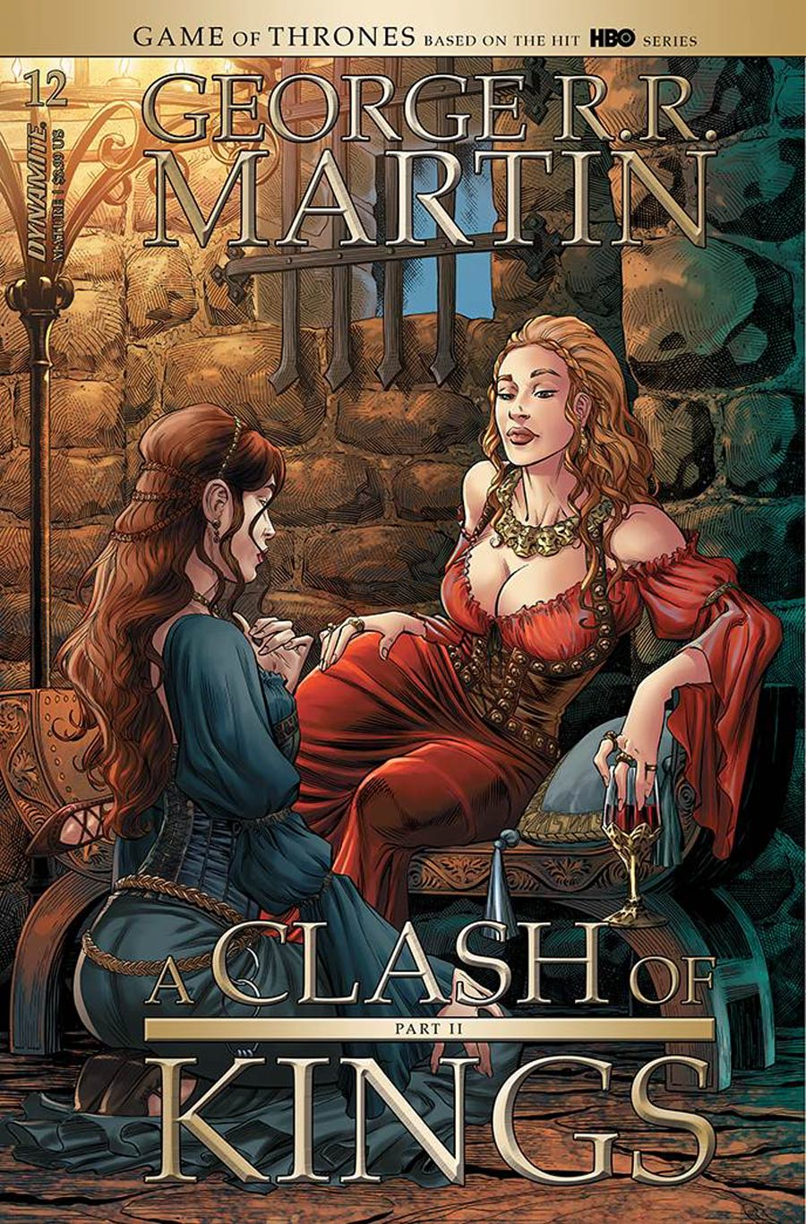 Game Of Thrones Clash Of Kings Vol 2 #12 Cover A Regular Mike Miller Cover
