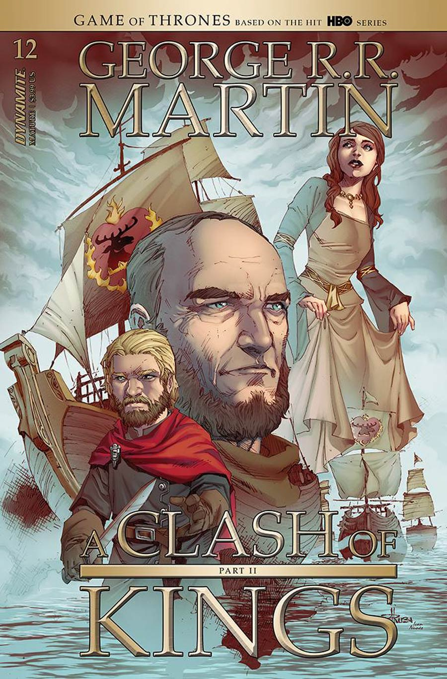 Game Of Thrones Clash Of Kings Vol 2 #12 Cover B Variant Mel Rubi Cover