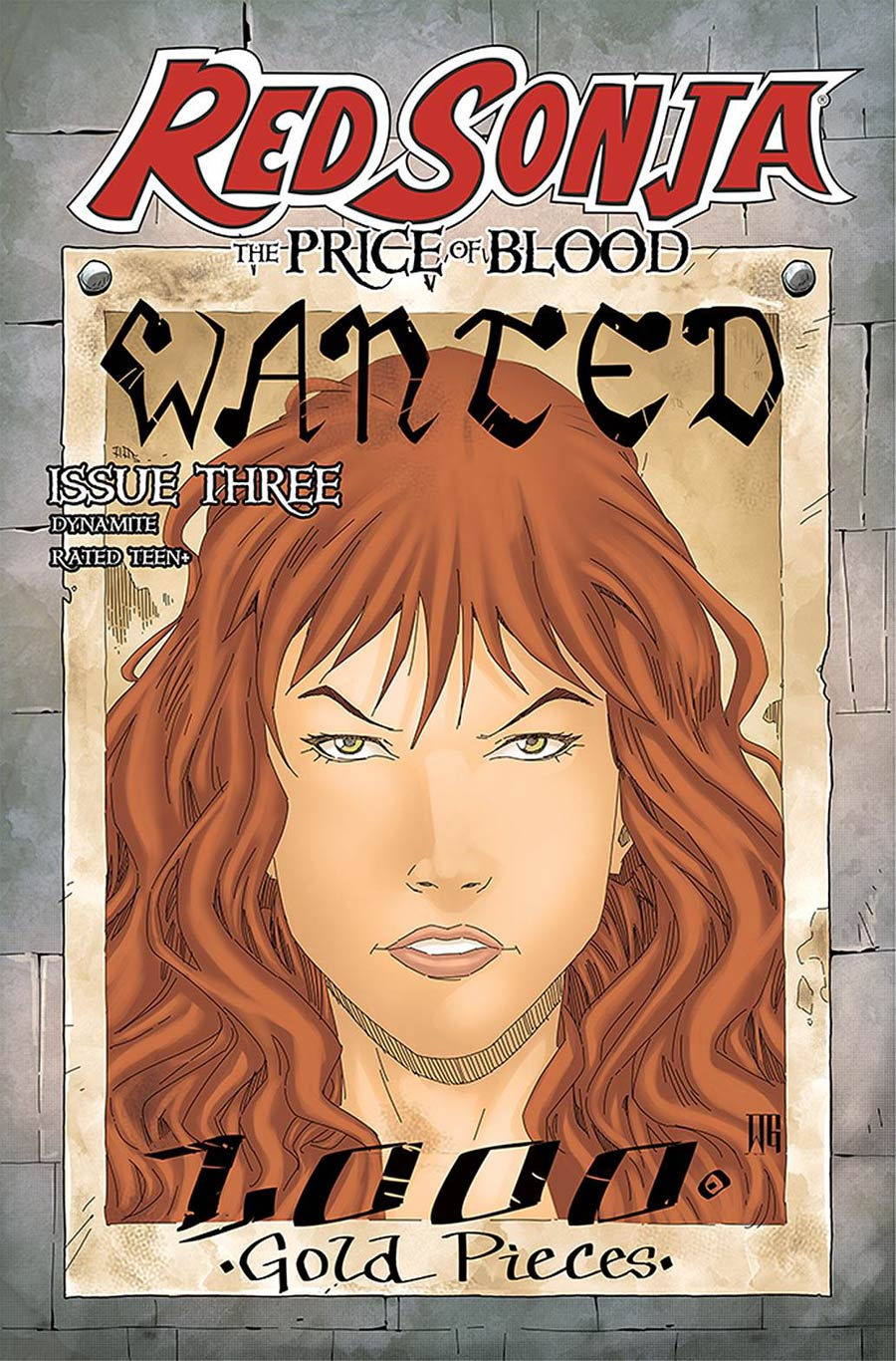 Red Sonja Price Of Blood #3 Cover D Variant Walter Geovani Cover