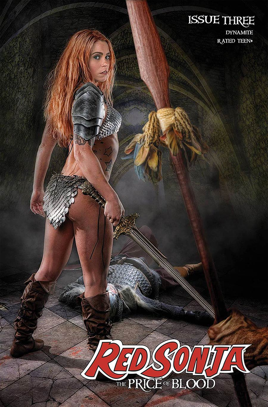 Red Sonja Price Of Blood #3 Cover E Variant Angel Ray Cosplay Photo Cover