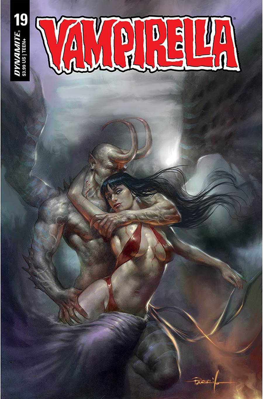 Vampirella Vol 8 #19 Cover A Regular Lucio Parrillo Cover