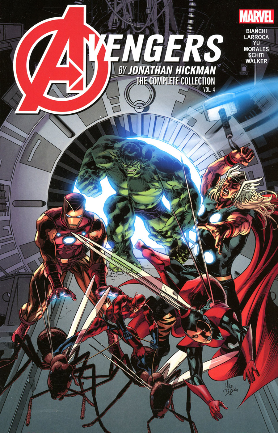 Avengers By Jonathan Hickman Complete Collection Vol 4 TP