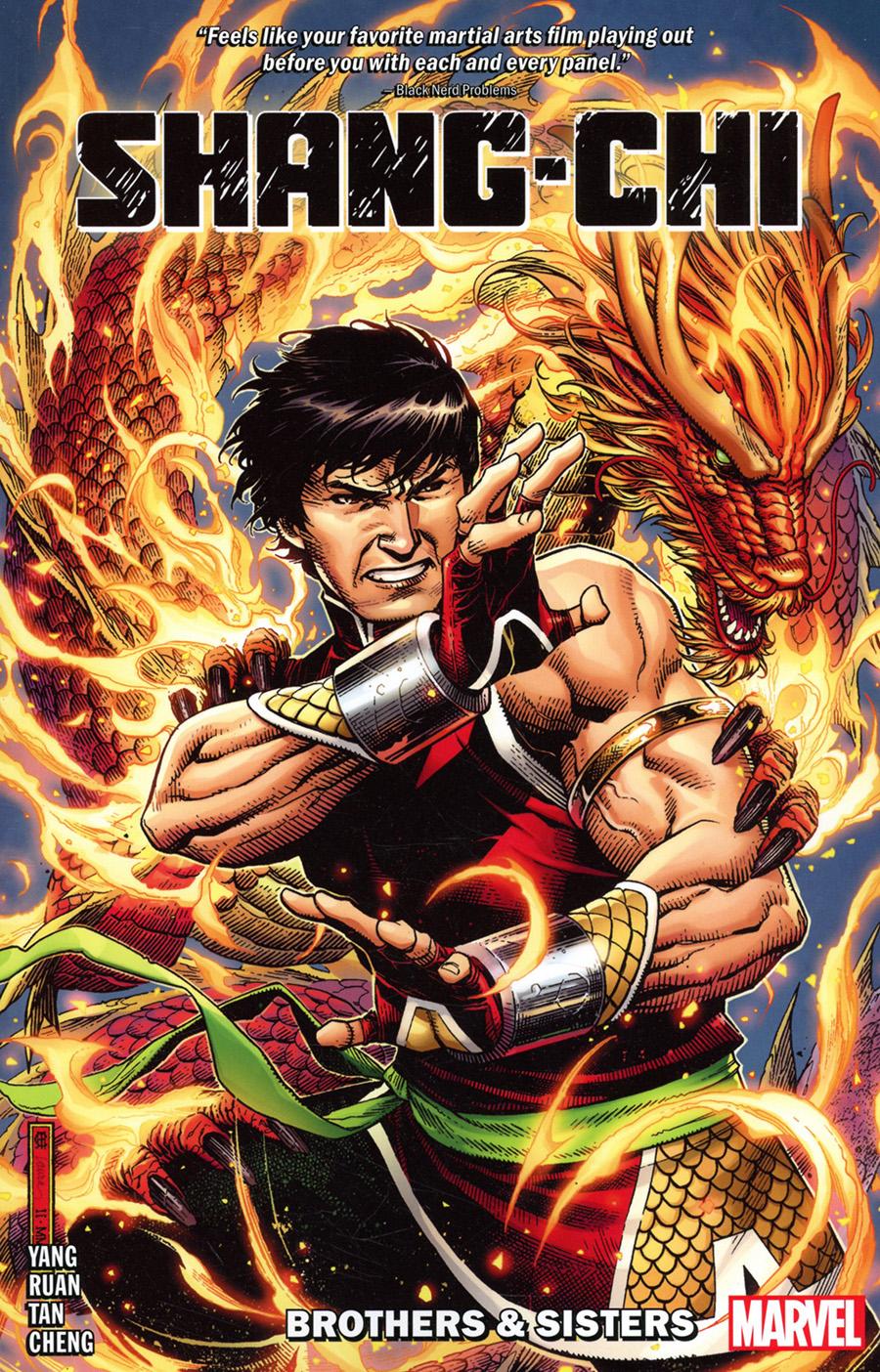 Shang-Chi By Gene Luen Yang Vol 1 Brothers & Sisters TP