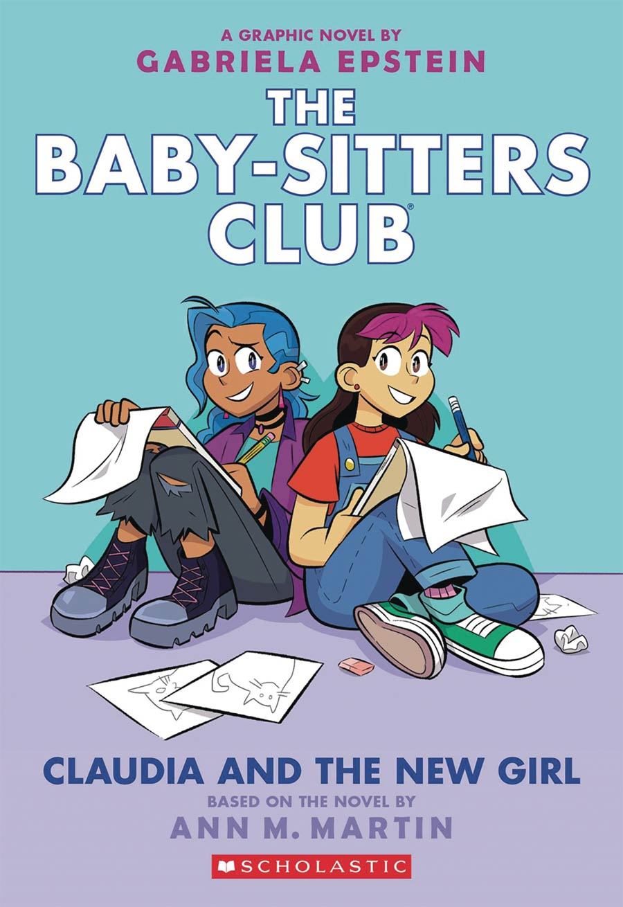 Baby-Sitters Club Color Edition Vol 9 Claudia And The New Girl TP
