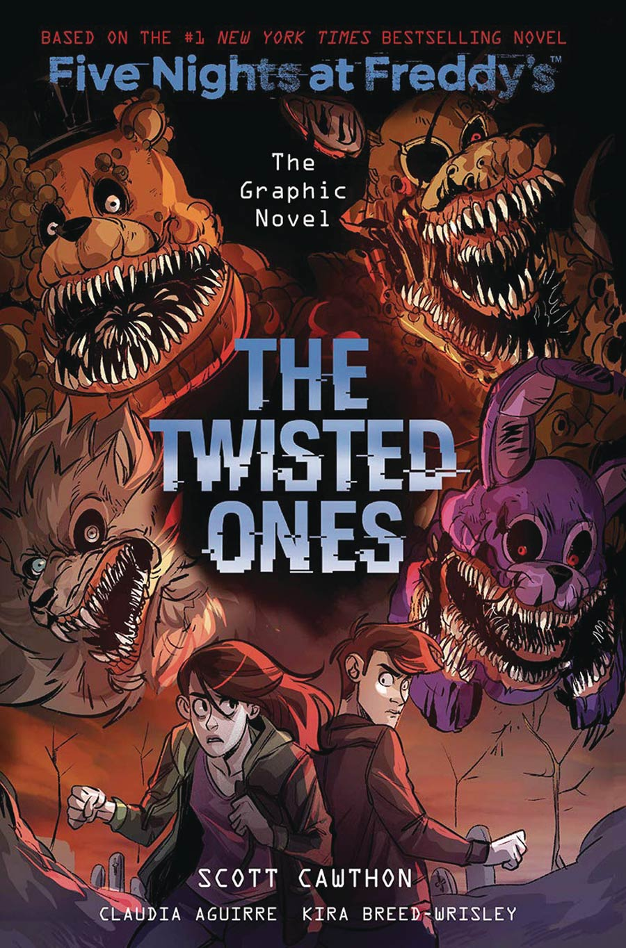 Five Nights At Freddys The Graphic Novel Vol 2 The Twisted Ones TP
