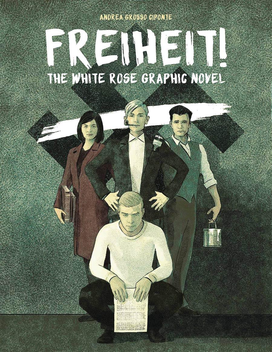 Freiheit White Rose Graphic Novel HC