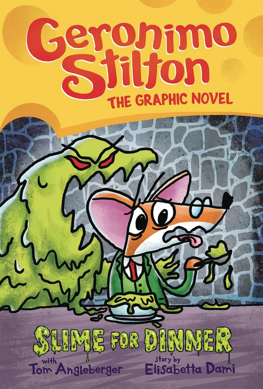 Geronimo Stilton The Graphic Novel Vol 2 Slime For Dinner HC