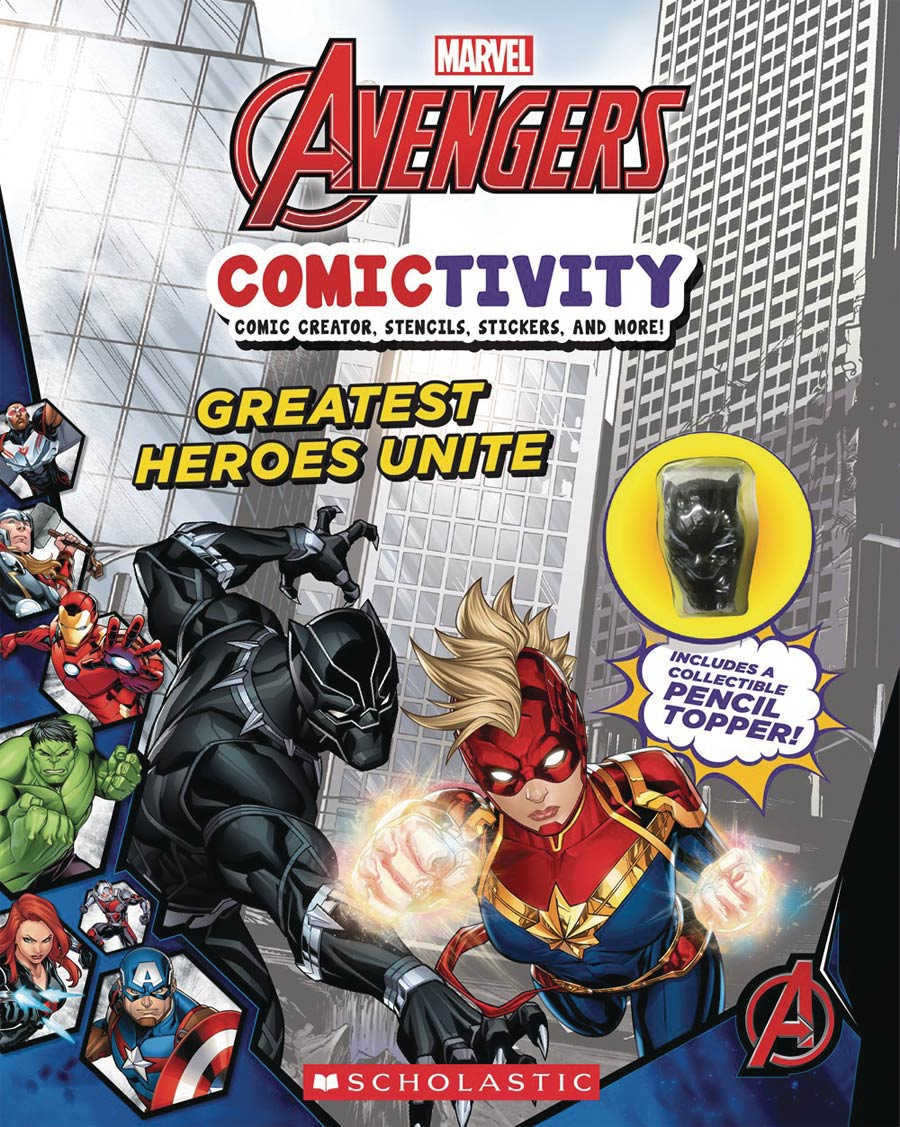 Marvel Avengers Comictivity #1 Greatest Heroes Unite TP