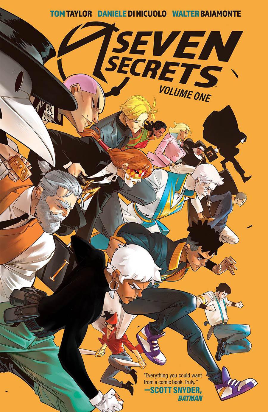 Seven Secrets Vol 1 TP