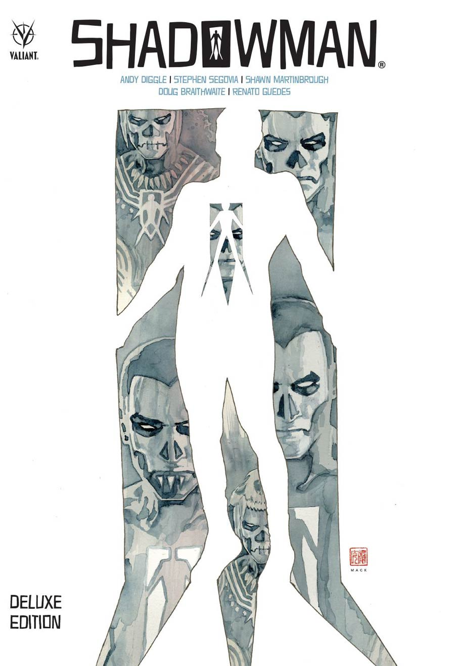 Shadowman By Andy Diggle Deluxe Edition HC