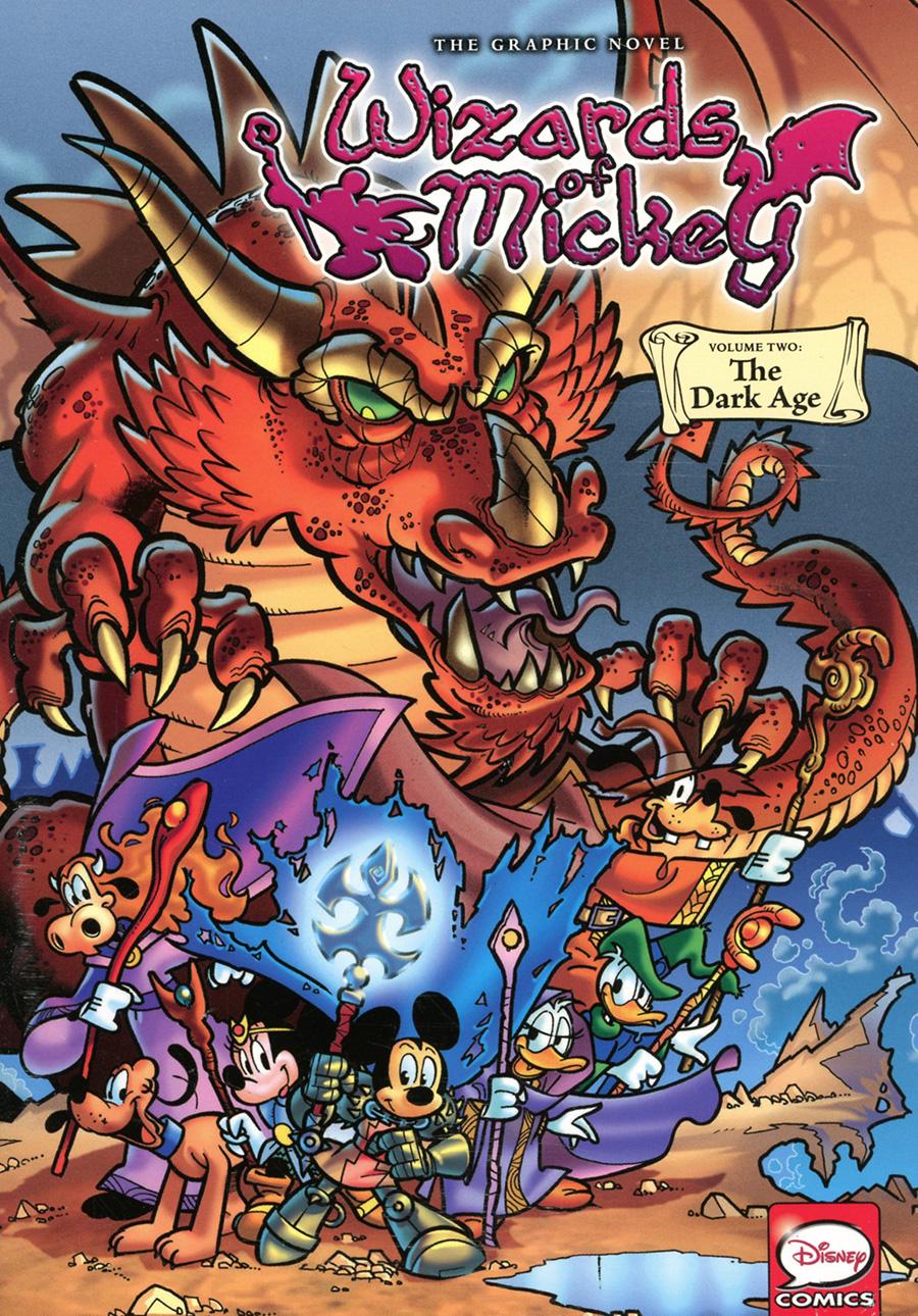 Disney Wizards Of Mickey Origins Vol 2 The Dark Age GN