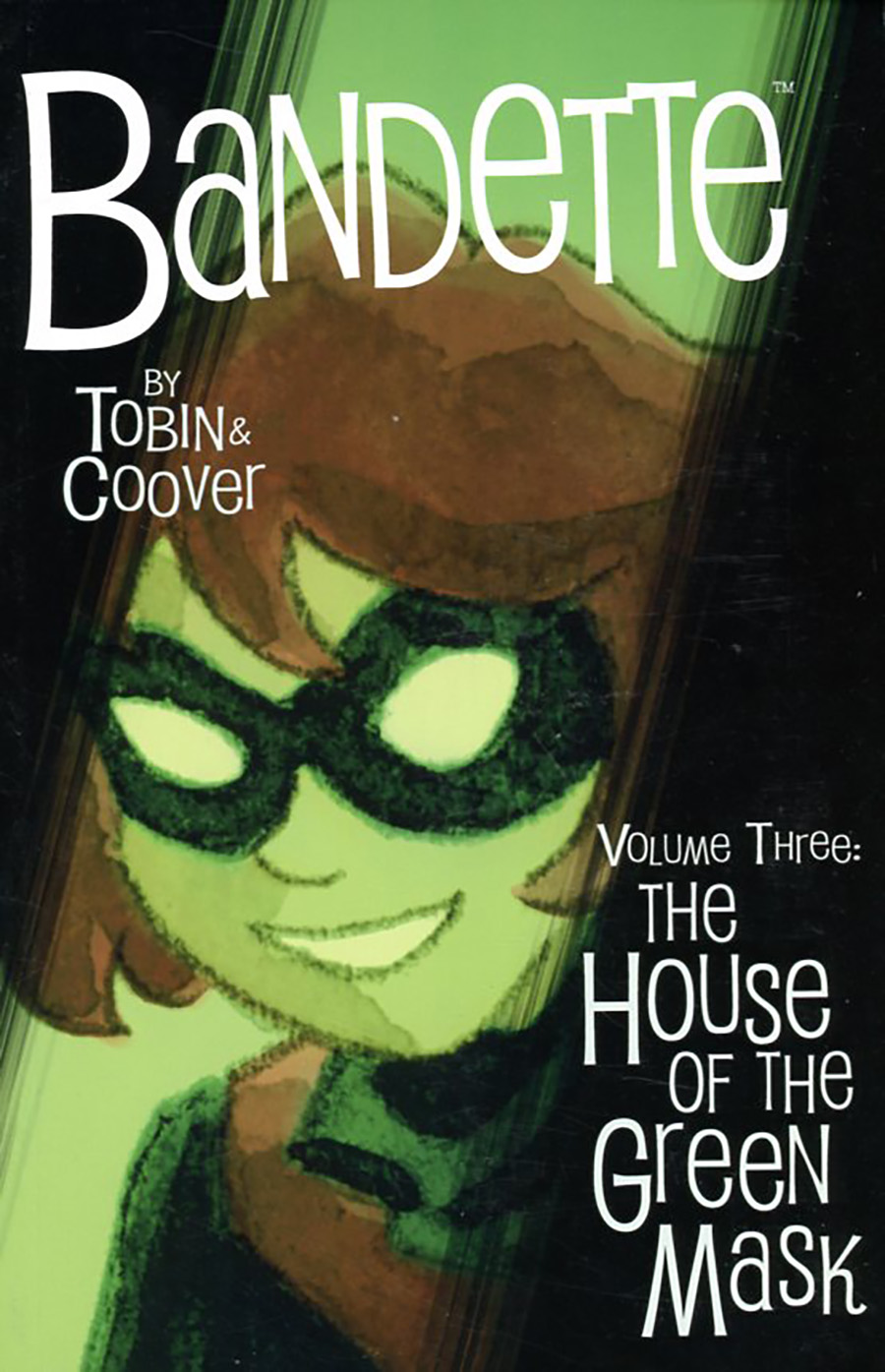 Bandette Vol 3 House Of The Green Mask TP