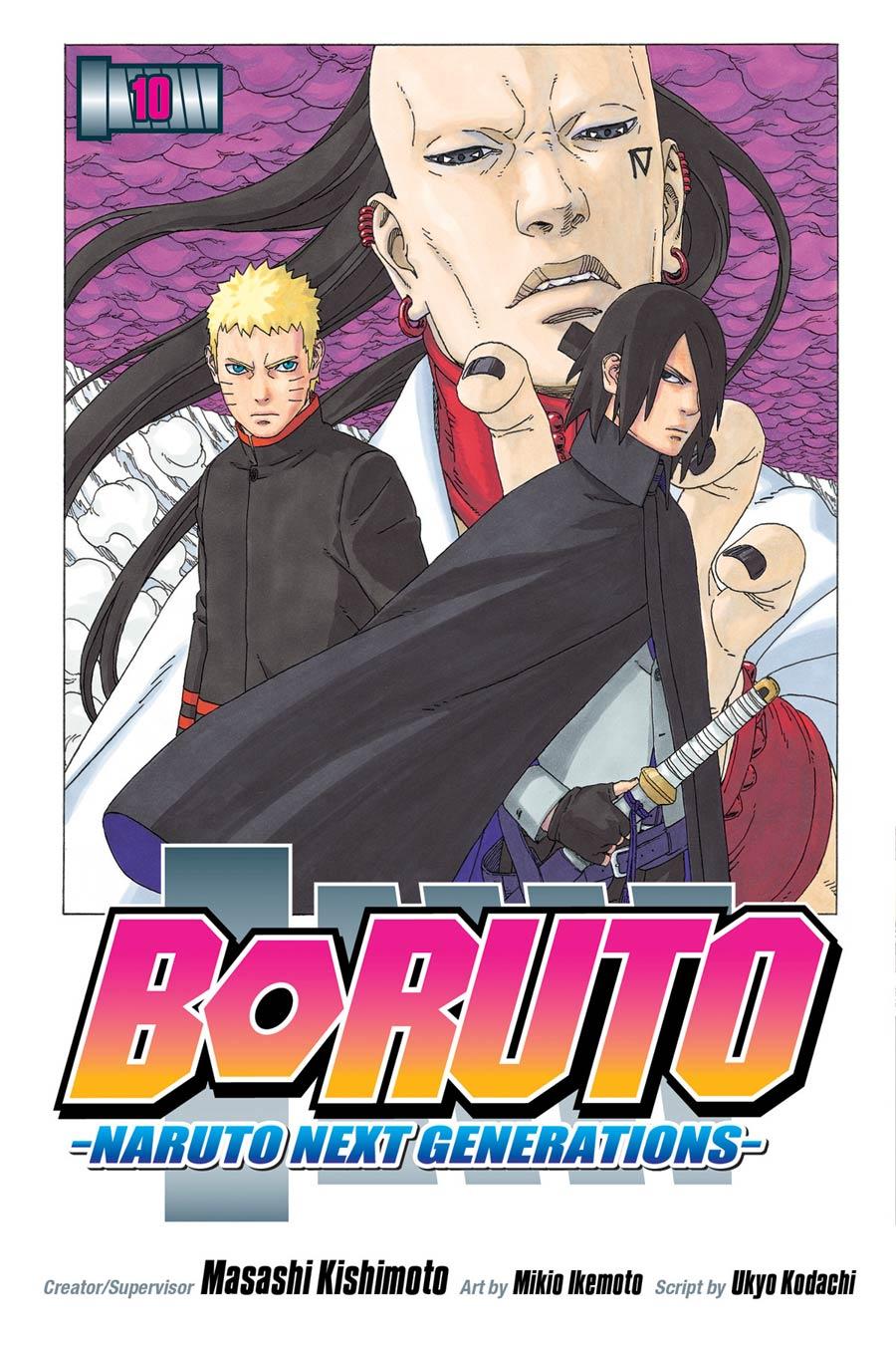 Boruto Naruto Next Generations Vol 10 GN