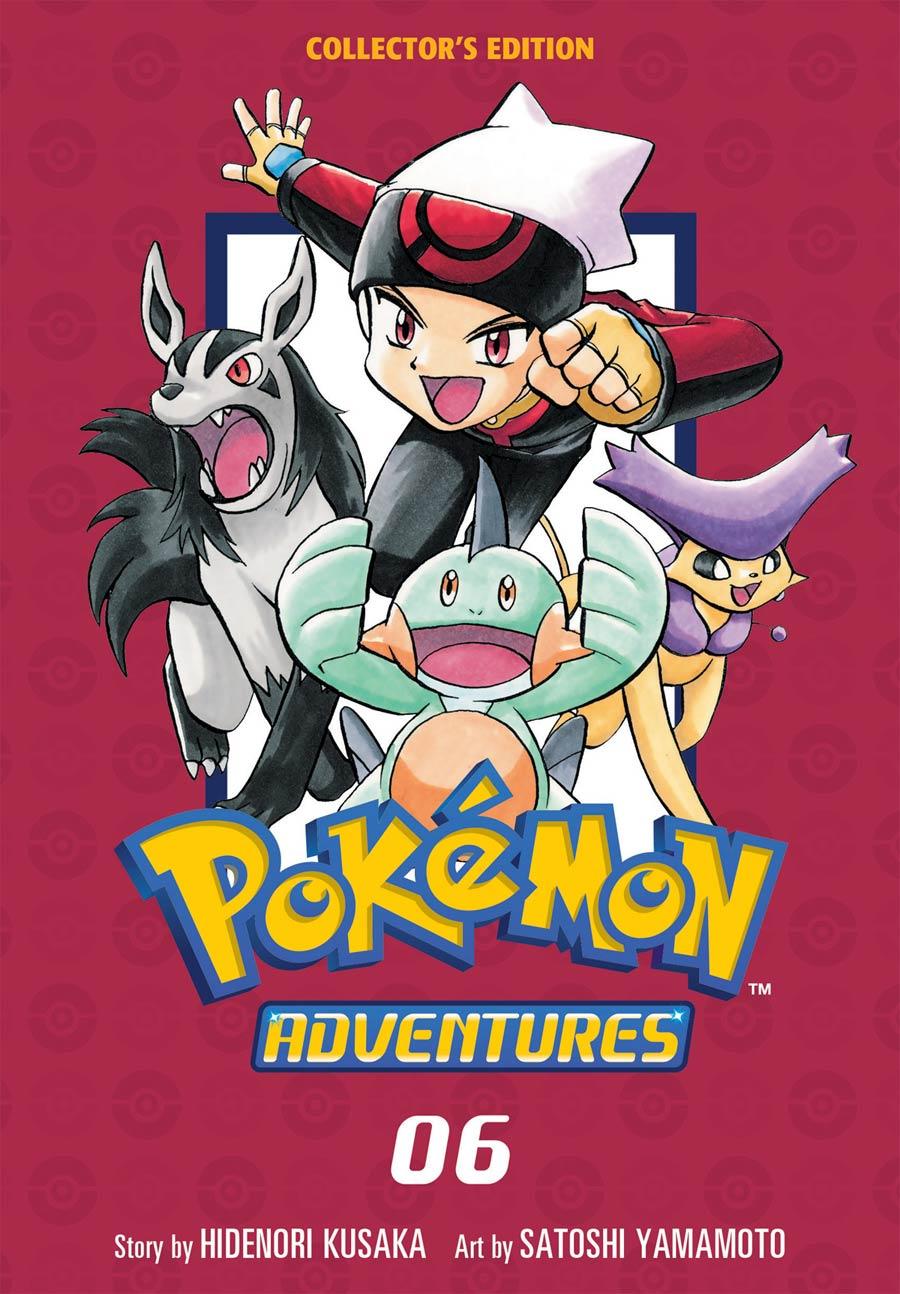 Pokemon Adventures Collectors Edition Vol 6 GN