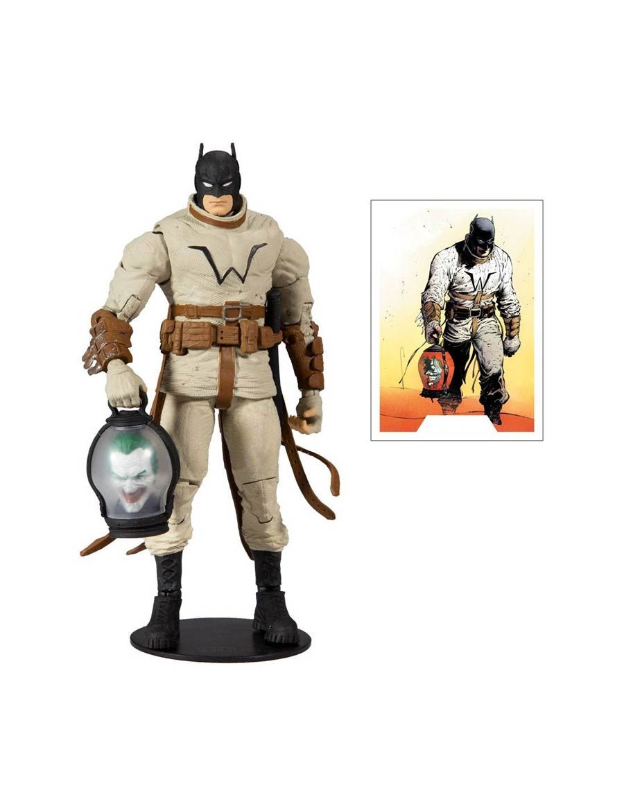 DC Collector Build-A-Figure Wave 3 Last Knight On Earth Batman 7-Inch Scale Action Figure