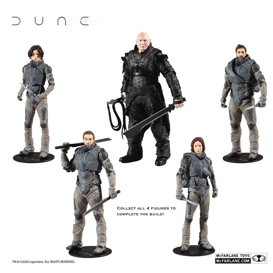 Dune 2021 Build A Figure Wave 1 7 Inch Scale Action Figure Assortment Case Midtown Comics
