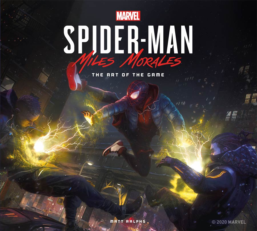 Marvels Spider-Man Miles Morales Art Of The Game HC