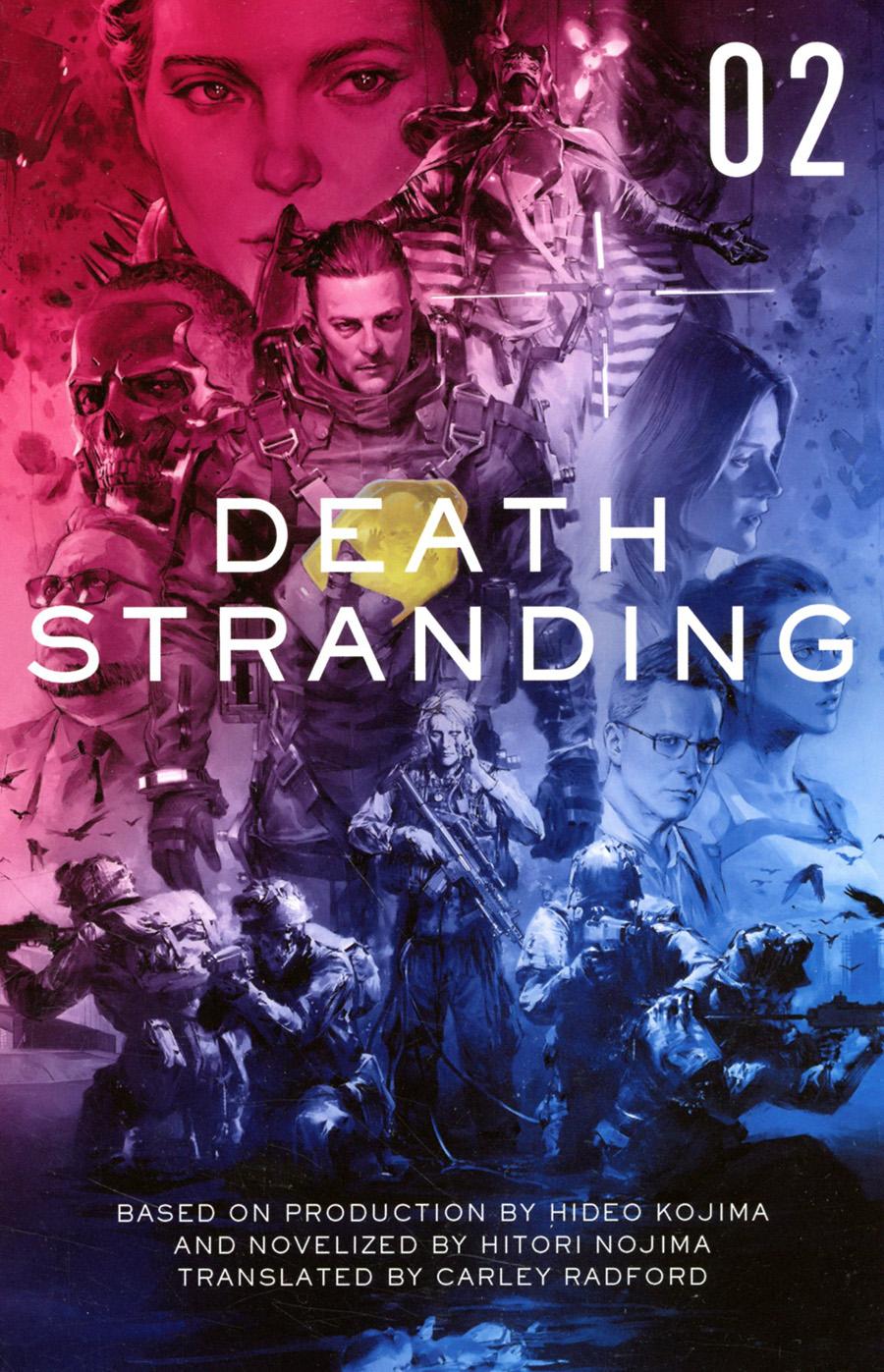 Death Stranding Official Novelization Vol 2 TP