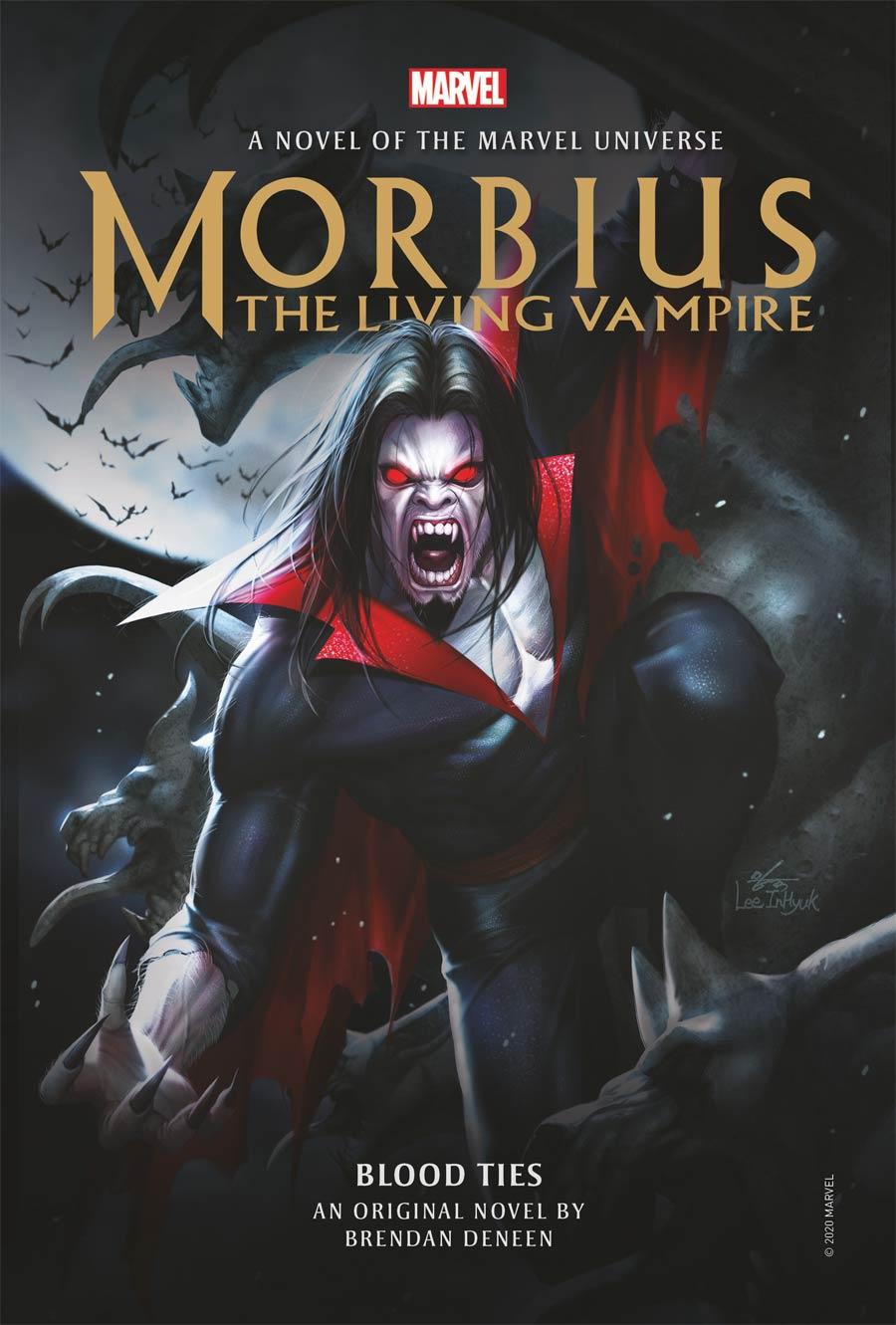 Morbius The Living Vampire Blood Ties Novel HC