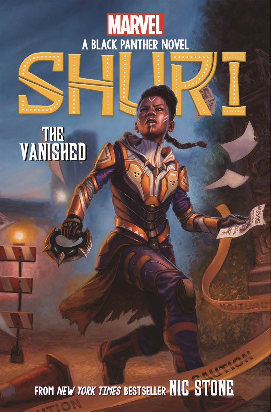 Shuri A Black Panther Novel Book 2 Vanished HC