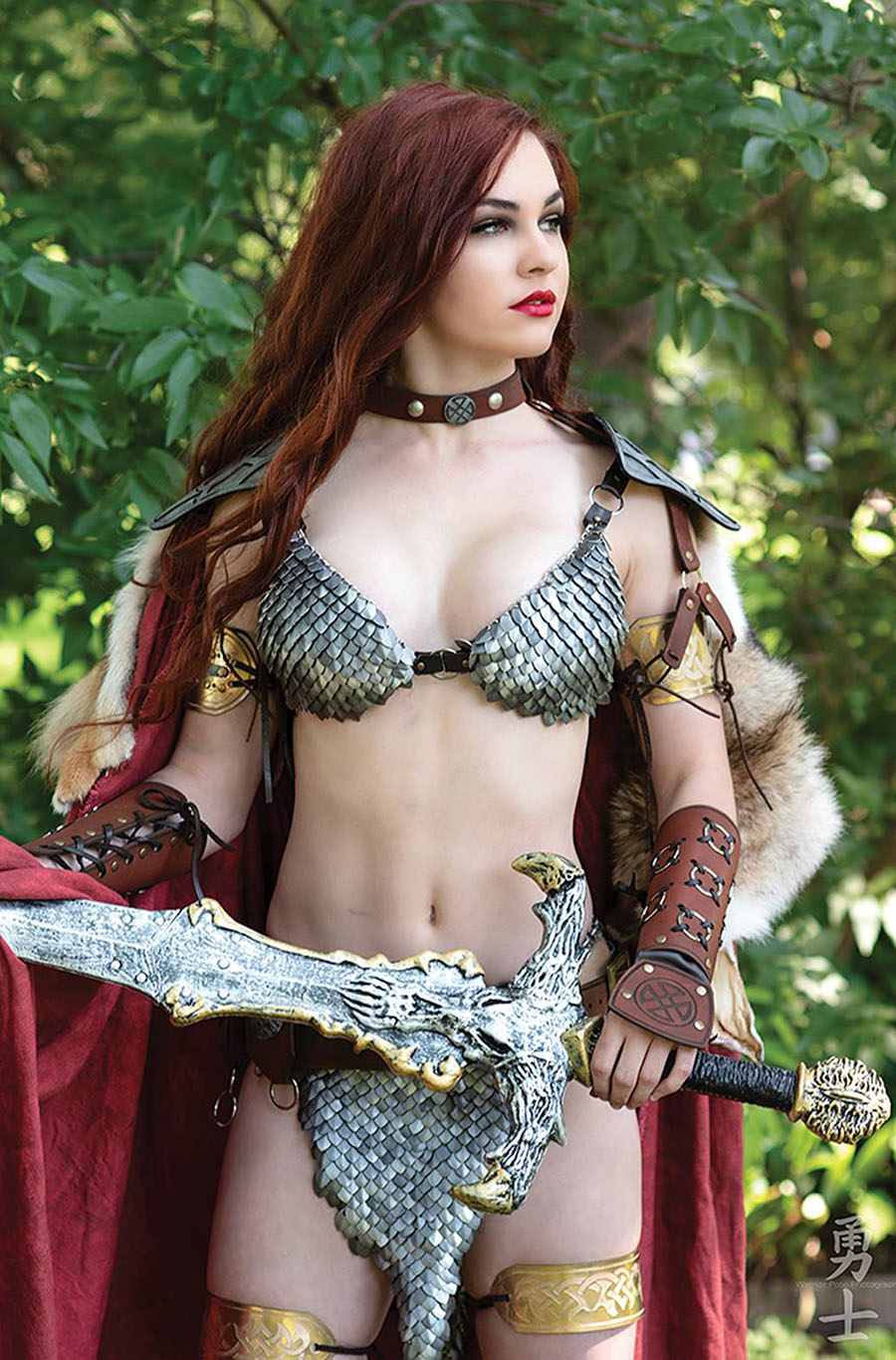 Red Sonja Valentines Special One Shot Cover G Incentive Savannah Polson Cosplay Photo Virgin Cover