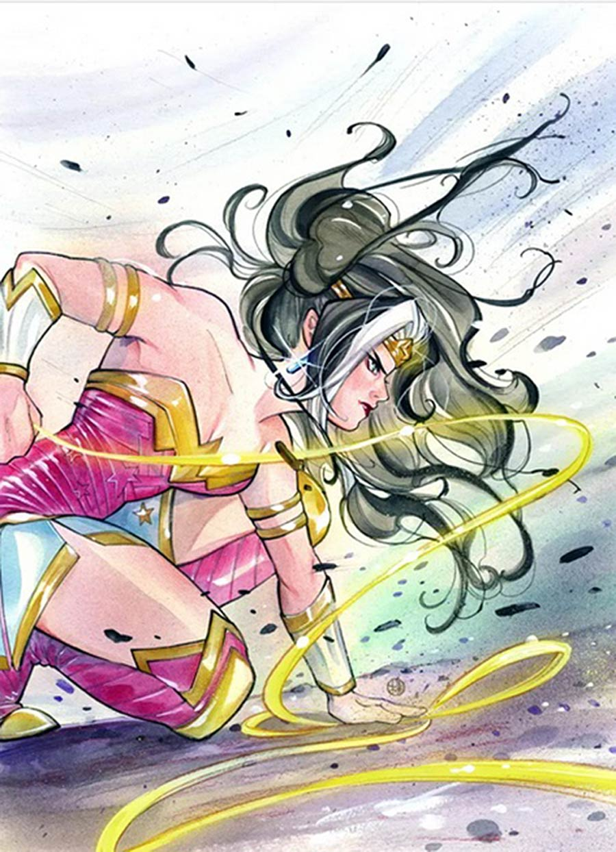 Future State Immortal Wonder Woman #1 Cover D DF Peach Momoko Card Stock Variant Cover CGC Graded
