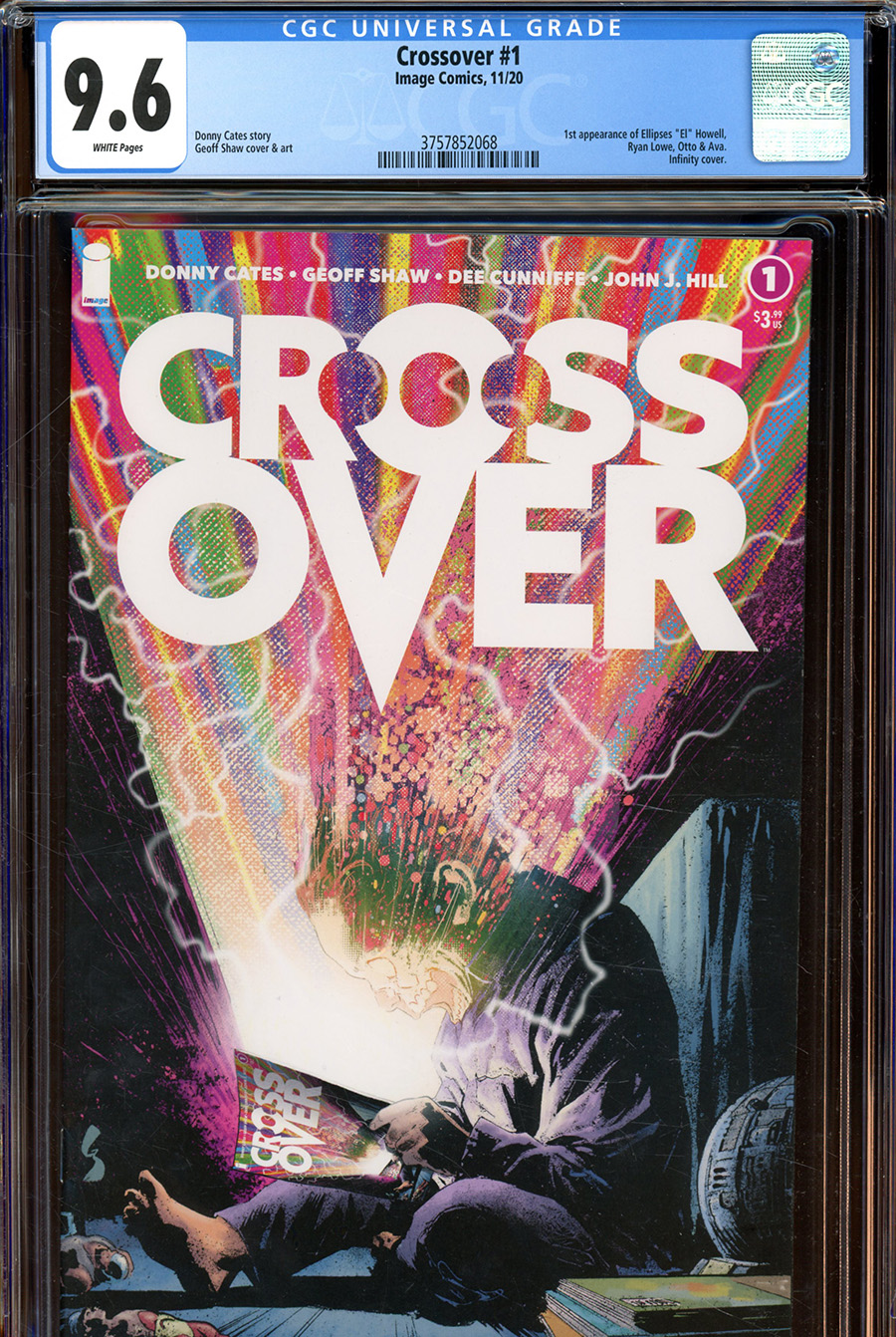 Crossover #1 Cover L DF Geoff Shaw & Dave Stewart Regular Cover CGC Graded