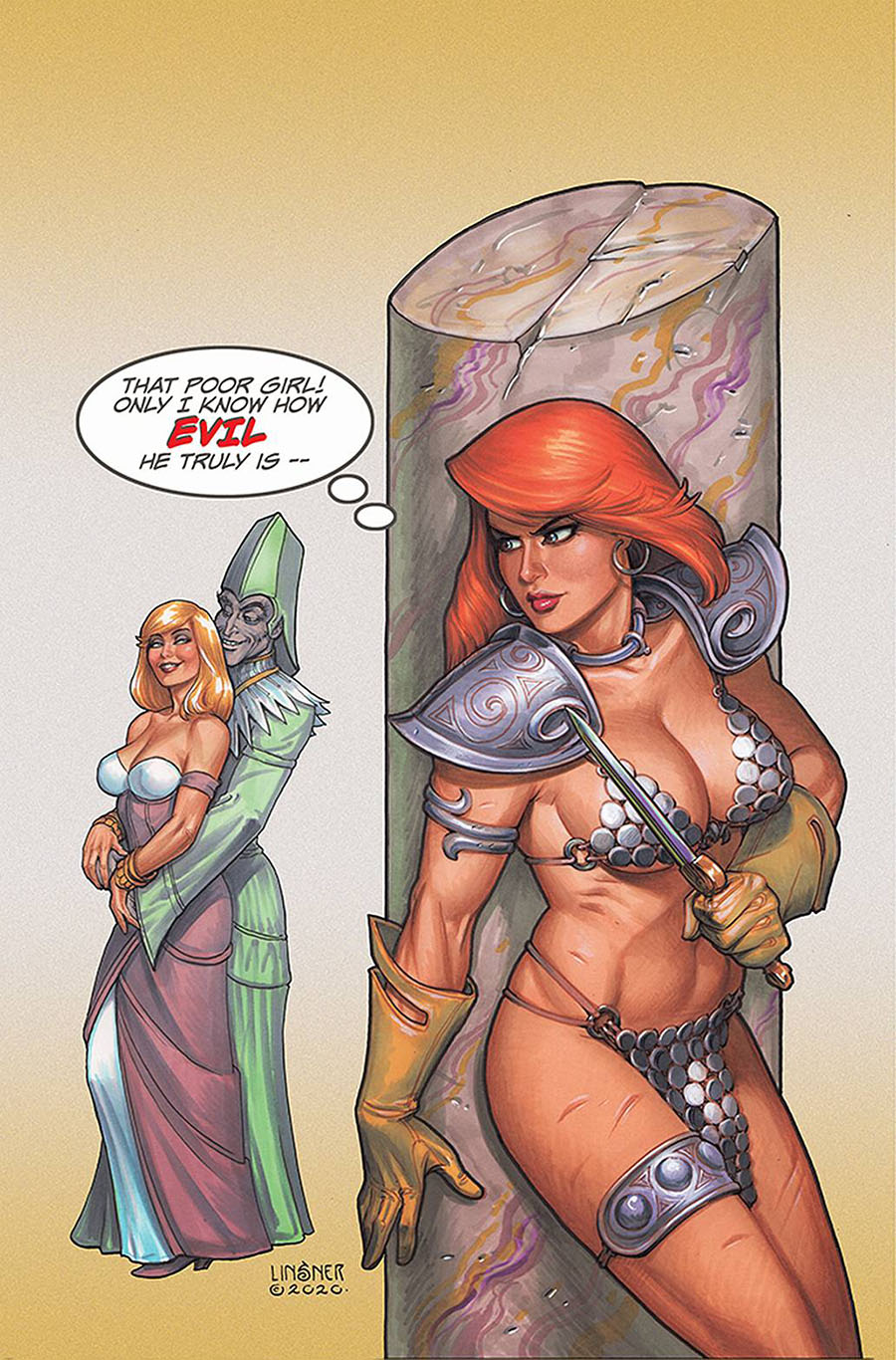 Red Sonja Valentines Special One Shot Cover J Limited Edition Joseph Michael Linsner Virgin Cover