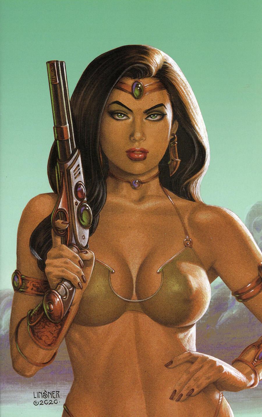 Dejah Thoris Vol 3 #12 Cover S Limited Edition Joseph Michael Linsner Virgin Cover